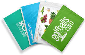 Decorative Flat Poly Mailers by Home Pac Worldwide