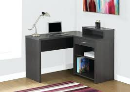 desk 39 monarch specialties inc corner desk dark taupe i 7335