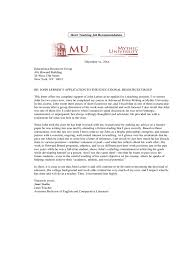 Re mendation Letter for Bank Teller