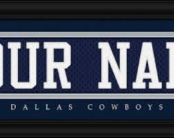 Dallas Cowboys Home Decor by Dallas Cowboys Nfl Etsy