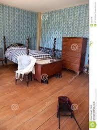 19 jahrhundert schlafzimmer stockfoto bild masse