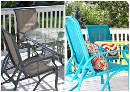 Patio Furniture Slings Fabric by Diy Upcycled Deck Furniture Accessories