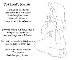 Be Sure To Print Of The Lords Prayer Coloring Pages With Click Image And