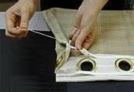 confectionnez vos rideaux à oeillets trucs et deco