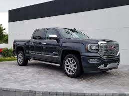 New 2018 GMC Sierra 1500 Denali Crew Cab Pickup In Delray Beach ...