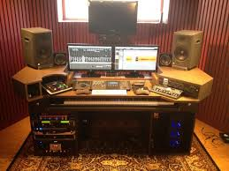 Cheap Studio Equipment For A Home Recording Kit Desk Design Ideas Simple Photography Setup Long Computer