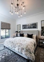 coole romantik winter schlafzimmer beleuchtung dekoration