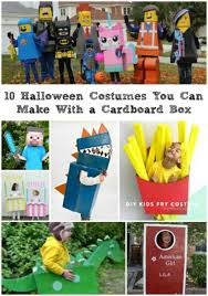 10 Halloween Costumes You Can Make With A Cardboard Box - Today's Mama