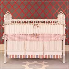 bratt decor venetian crib distressed white girl nursery