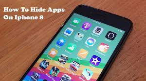 How To Hide Apps Iphone 8 Iphone 8 Plus