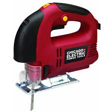 Chicago Electric Tile Saw 7 by Chicago Electric Power Tools 92772 Laser Guided Orbital Jigsaw