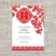 Best Ideas Chinese Wedding Invitation Card Nice Sample Template Designing Red And White Color Background