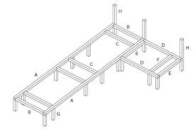 fabriquer un canapé en bois fabriquer un canape en bois 1 racaliser lossature une banquette lit