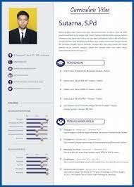 20 Contoh CV Lamaran Kerja Yang Menarik Kreatif Cara Membuat