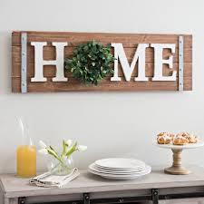Kirklands Home Bathroom Vanity by Home Wreath Wooden Wall Plaque Kirklands