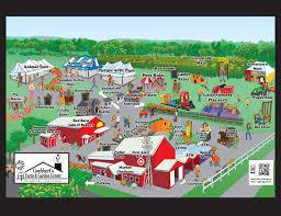 Pumpkin Farm Illinois Giraffe by Map Of The Farm