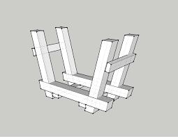 firewood storage rack plans you online woodworking plans