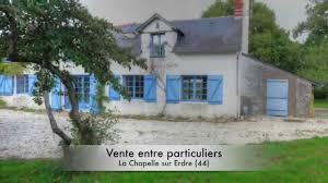 vente entre particuliers maison à la chapelle sur erdre 44