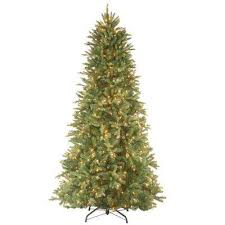 65 Ft Tiffany Fir Slim Artificial Christmas Tree With