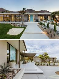 100 Modern Stucco House This Renovated Mid Century Sits On A Plateau