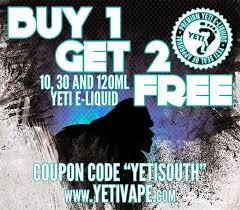 GET READY TO VAPE YETI: BUY ONE GET TWO FREE ON JUICE ... 77 Yeti Casino Extra Spins In December 2019 Claim Now Gta Water Coupon Airsoft Gi Coupons Promotional Codes 20 Off Gliks Promo Discount Wethriftcom 15 Off Storewide At Skate Warehouse Free Code Cooler Sale Where To Find Bag Deals Money Rambler 12oz Bottle With Hshot Cap Islanders Outfitter Personalized Cancer Awareness Decal Any Color Vaporjoescom Vaping And Steals Yeti Blowout Buy Cyber Monday Newegg Deals Pc Gamer On Twitter Get This Blue Microphone Bundle