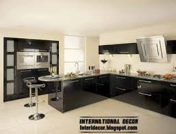 White Kitchen Design Ideas 2014 by Interior And Architecture Modern Black Kitchen Designs Ideas