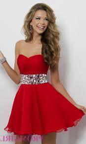 red strapless homecoming dresses naf dresses