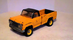 Tonka Pickup Truck 1970s - YouTube