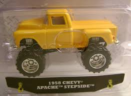 1958 '58 CHEVY APACHE STEPSIDE PICKUP TRUCK JUST TRUCKS WAVE 16 ...