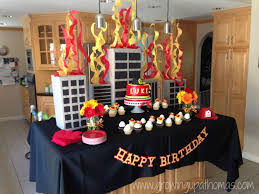 Firetruck Birthday Party! Www.growingupathomas.com   Luke's 3rd ... Free Printable Golf Birthday Cards Best Of Firetruck Themed A Twoalarm Fireman Party Spaceships And Laser Beams Bright Blazing Hostess With The Mostess Invitations Astounding Fire Truck Stay At Homeista A Station Themed Food Home Design Ideas Truck Cake Flame Cupcakes Decorations Little Big Company The Blog Party By Something Free Printables How To Nest Readers Favorite