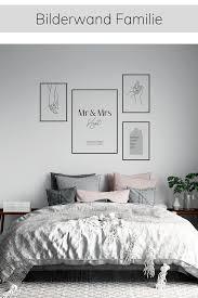 inspiration bilderwand familie schlafzimmer einrichten