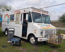 FOOD TRUCK WITH Built-in Smoker Barbecue Pit In Rear Compartment ...