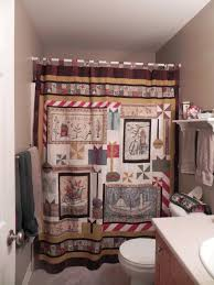 Primitive Country Bathroom Ideas by Curtiss Abstract Primitive Country Shower Curtains Best Curtains
