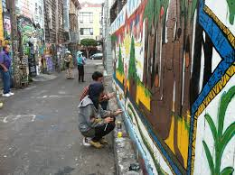 clarion alley mural project s decades of dissident artwork now