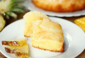 kleiner ananaskuchen