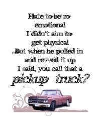 Kings Of Leon Pickup Truck Song Lyric Typography Print 8x10 Grunge ...