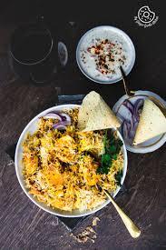 biryani indian cuisine hyderabadi egg biryani restaurant style egg dum biryani recipe