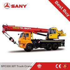 China Sany Stc300s Truck-Mounted Crane 30 Ton Mobile Crane Price ...