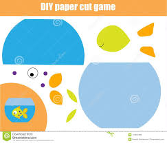 DIY Children Educational Creative Game Paper Cutting Activity Make