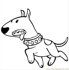 Coloring Pages Baby Dog Mammals Dogs Free Printable Vfxpi