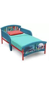 Plastic Toddler Bed Finding Dory Bedroom Delta Children Furniture