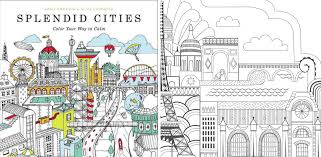 Color This Book New York City 7 For A More Playful Take On Cities Splendid By Rosie Goodwin