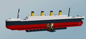 Rms Lusitania Model Sinking by Lego Ideas Lego Titanic Mini Model