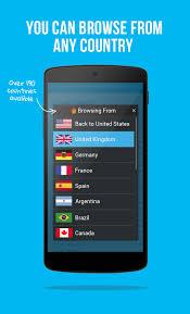 Hola Free VPN Proxy screenshot