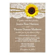 The Rustic Sunflower Wedding Collection