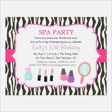 Free Pamper Party Invitation Templates Personalized 31 Template
