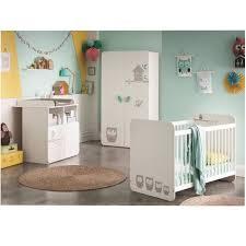 chambre bébé compléte hiboux chambre bébé complète lit 60x120 cm armoire commode