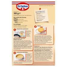 dr oetker käse sahne torte 385 g de lebensmittel