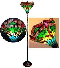Quoizel Tiffany Lamp Shades by Table Lamp Blue Dragonfly Night Light Tiffany Style Table Lamp