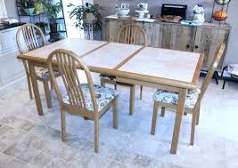 Solid Oak Dining Room Table And 6 Chairs Furniture Set X Winning S Ta